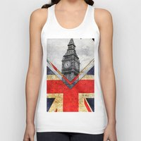 uk Tank Tops featuring Flags - UK by Ale Ibanez