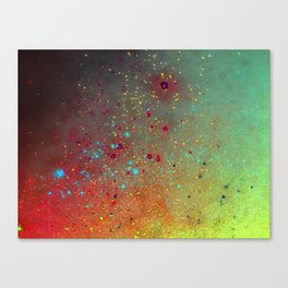 A splash of space Canvas Print