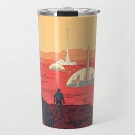 Future Desert City Travel Mug