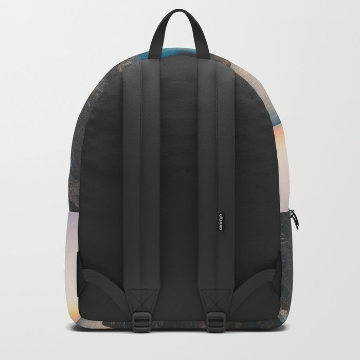 Rock beach paradise Backpack