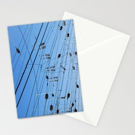 Crossed wires, Washington DC Stationery Cards
