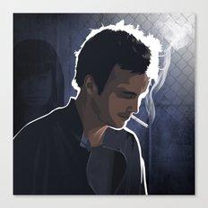 Breaking Bad Illustrated - Jesse Pinkman Canvas Print