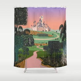 Dream for a Castle Shower Curtain