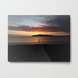 Sunset and You Metal Print