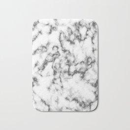 Black & White Marble Bath Mat