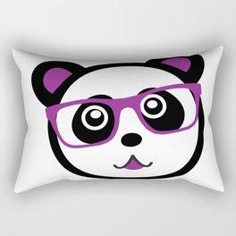 Panda Nerd Rectangular Pillow