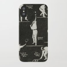 gentlemen prefer tennis Slim Case iPhone X