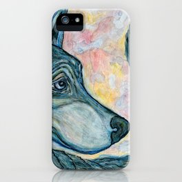 Moving Forward, Looking Back iPhone Case
