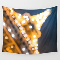 eiffel Wall Tapestries featuring tour eiffel by franckreporter