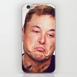 Elon Musk funny iPhone Skin