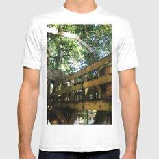 Tree house @ Aguadilla 4 Mens Fitted Tee White MEDIUM