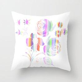 Sweet bouquet Throw Pillow