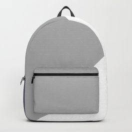 grey blue Backpack