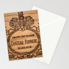 French wine box Stationery Cards