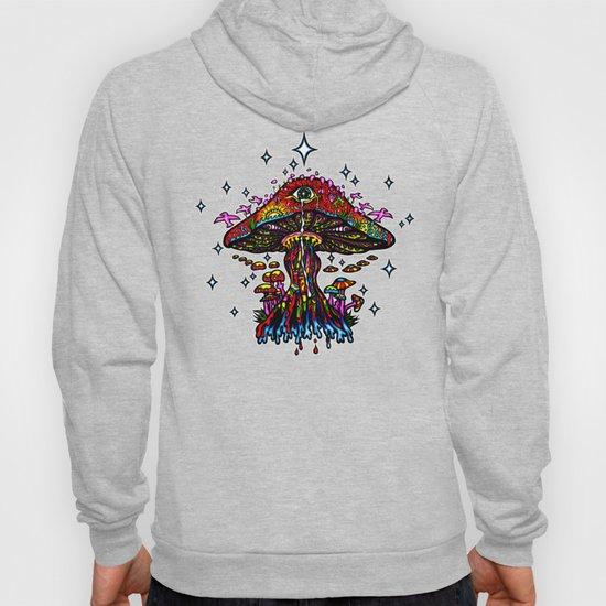 Psychedelic Eye Mushroom by sandersart