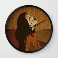 ethnic Wall Clocks featuring Ethnic.. by Viviana Gonzalez
