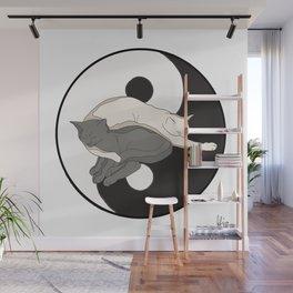 yin and yang Wall Mural