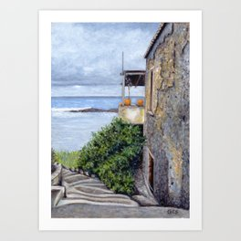 Tabakaria View, Chania, Crete Art Print