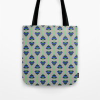 art deco Tote Bags featuring Art Deco by MartaBerk