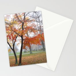 Foggy Fall Stationery Cards