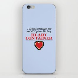 Lousy Heart Container iPhone Skin