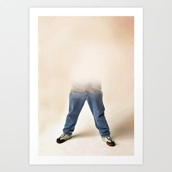 Legs 11 _ 02 Art Print