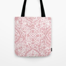 Isola Signature Print Dusty Pink  Tote Bag