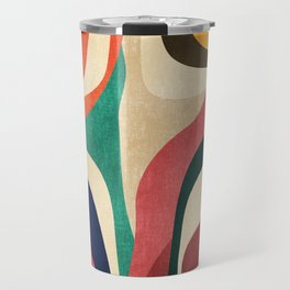Impossible contour map Travel Mug