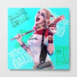 Harley Quinn. Metal Print