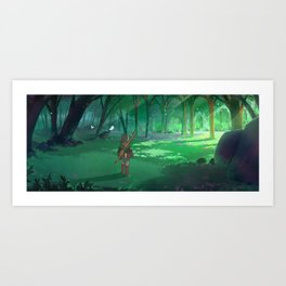 Tranquil Forest Art Print