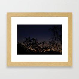 Moonrise No. 1  Framed Art Print