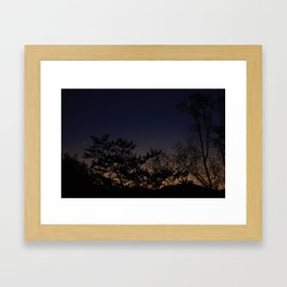 Moonrise No. 1  Framed Art Print