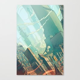 leveL - The Sprawl Canvas Print