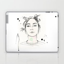 City Chic Fashion Illustration Laptop & iPad Skin