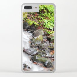 Stream Time lapse Clear iPhone Case