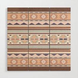 Blush South Western Pattern Wood Wall Art