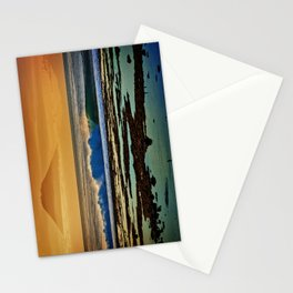 Indonesian Wave and Volcano Stationery Cards