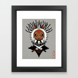 Guardians of the Forest Framed Art Print