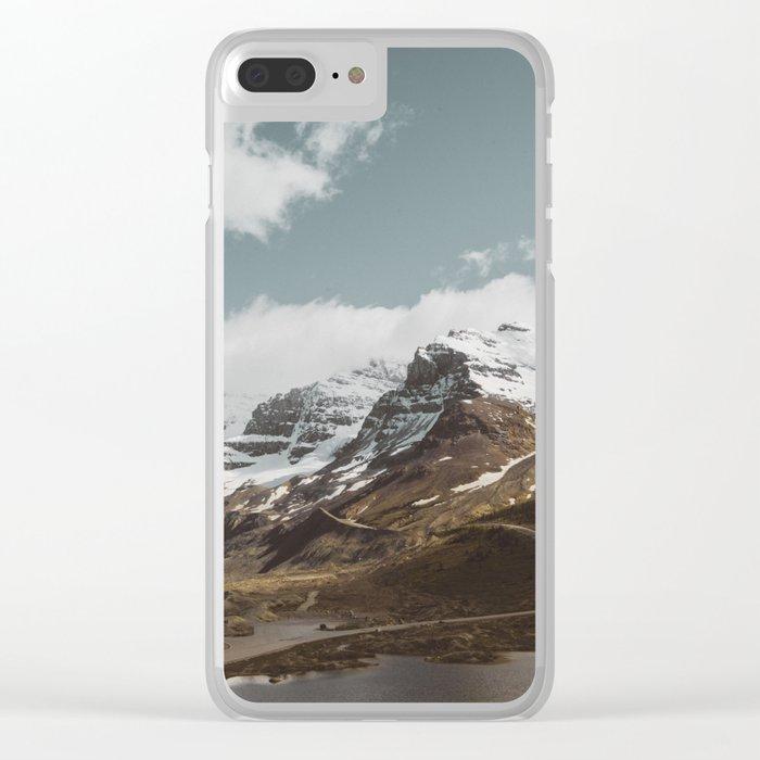 Wanderlust Heaven Clear iPhone Case