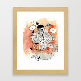 tokyo street Framed Art Print