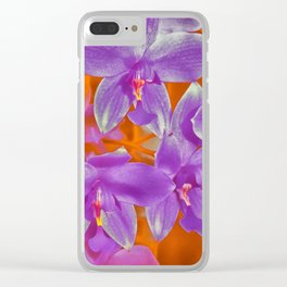 Orchidland Clear iPhone Case