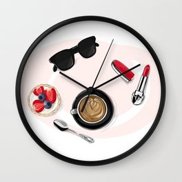 Сoffee Wall Clock