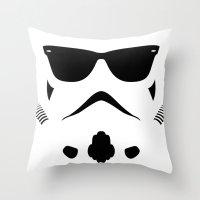 Shadetrooper Throw Pillow