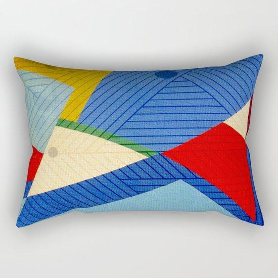 Fish Lines Rectangular Pillow