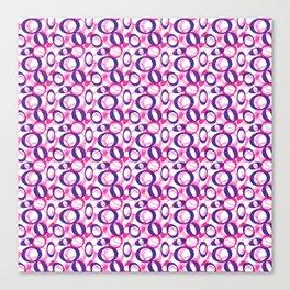 Oblong Pattern Canvas Print