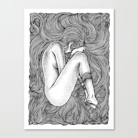 THE NEST 2 Canvas Print
