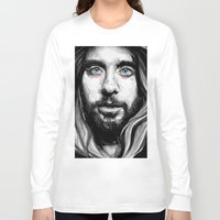 jared leto Long Sleeve T-shirts featuring Jared Leto by KlarEm