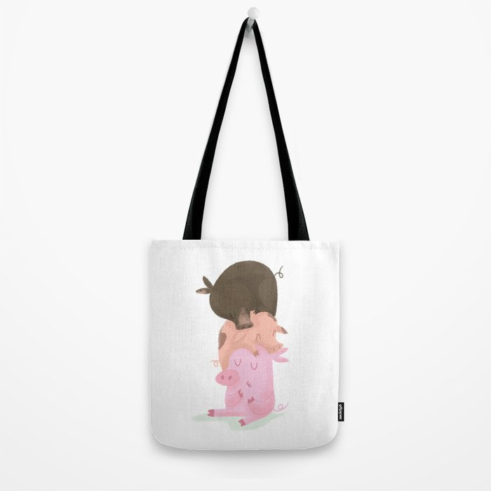 Little pigs Tote Bag
