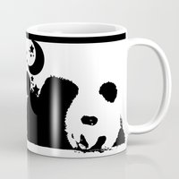 sleep Mugs featuring Sleep by Panda Cool