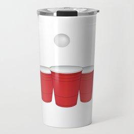 Funny Any Hole Is My Goal Frat Beer Pong Beirut Travel Mug
